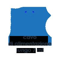 Caratteristiche Vapour M2. Scopa a Vapore